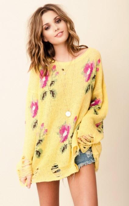 bohemian sweaters