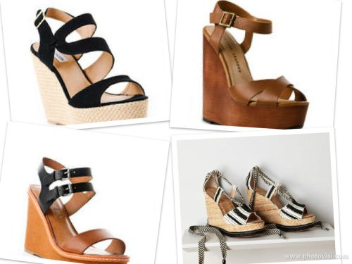 summer wedges on sale